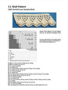 13ShellPatternDownload - knitted lace