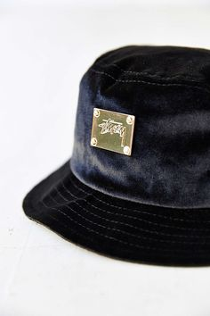 26a67838e44 Stussy X UO Velvet Bucket Hat. Urban Outfitters
