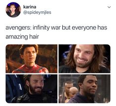 Except for Hawkeye. But we only know that because of Renner's pics, not because he has been in a single F*N bit of promos!!