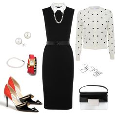 A fashion look from June 2014 featuring Jason Wu dresses, Jimmy Choo pumps and Yves Saint Laurent shoulder bags. Browse and shop related looks.