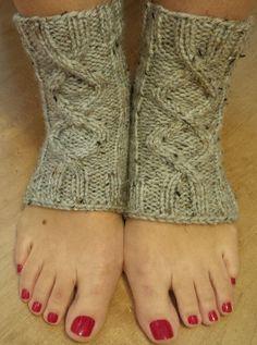 Yoga Sock Fundraiser - beautiful hand knit yoga socks - anti allergic - women size L/XL - for your favourite yogi by AstasDelights on Etsy