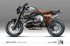 BMW R1100 GS - Visualizing Custom Motorcycles by Holographic Hammer ~ www.motorivista.com