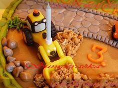 МК лепка Боб-строитель -Gumpaste Bob the Builder Tutorial - Мастер-классы по украшению тортов Cake Decorating Tutorials (How To's) Tortas Paso a Paso