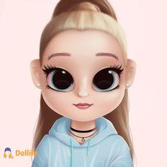 Kawaii Girl Drawings, Cute Girl Drawing, Cute Profile Pictures, Girly Pictures, Cute Cartoon Girl, Cartoon Art, Kids Toy Shop, Friends Sketch, Arte Do Kawaii