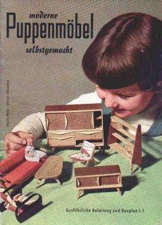 Dollhouse 50er 33 - http://www.puppenhausmuseum.de/puppenstuben-50er-33.html