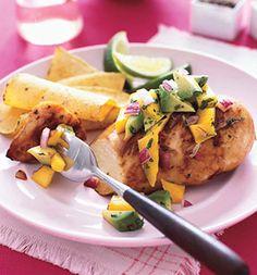 Avocado-Mango Chicken
