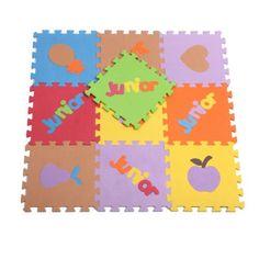 Large Soft Foam EVA Floor Mat Jigsaw Tiles Alphabet Kids Babies Puzzle: Amazon.co.uk: Toys & Games