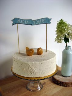 banners for cakes | To me, it seems like a good combination. I need to practise my digital ...