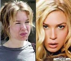 Renee-Zellweger Without Makeup - Stars without Make Up Renee Zellweger, Celebrity Gallery, Celebrity Look, Celebrity Makeup, How To Hide Pimples, Anastasia Beverly Hills, Celebs Without Makeup, Acne Makeup, Makeup Before And After