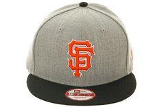 d9354714c71 New Era San Francisco Giants Bind 9Fifty Snapback Hat - Heather Gray