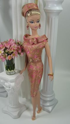 """""""Wisteria Lane"""" in Rose, from Matisse Doll Fashions archives, November 2009     Photobucket"""