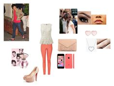 a stroll around with louis by irissalmeron on Polyvore featuring polyvore, fashion, style, dVb Victoria Beckham, Christian Louboutin, ASOS, Kwiat, Free People, River Island and CAbi