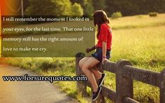 Quotes about one little memory still has the right
