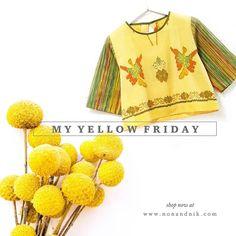 My yellow friday.  . .  www.nonandnik.com  #batik #batikindonesia #fashionindonesia #batikdress #batikblouse #kainbatik #batikmodern #batikcap #modernbatik #batikshop #fashionbatik #batikfashion #ootdbatik #onlineshop #localbrand #localbrandindonesia #readytowear #batiknonik #nonandnik