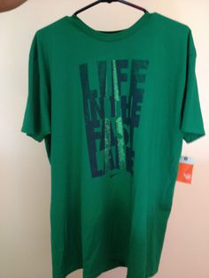 """NIKE """" LIFE IN THE FAST LANE """" SPORT T-SHIRT"""