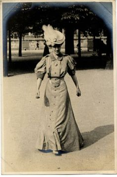 Helen du Bois photographed by Edward Linley Sambourne while playing hand ball