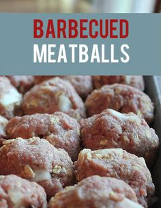 This is the BEST Barbecued Meatball recipe I've ever found. It's simple, makes a lot, freezes well, and is a crowd-pleaser.