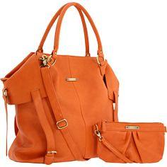 On the go...in orange!