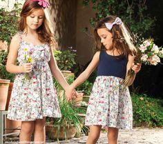 Moda Infantil Blog: VESTIDOS PARA NIÑAS VERANO 2014 NUCLEO NENAS