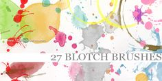 Ink Blotch - Download  Photoshop brush http://www.123freebrushes.com/ink-blotch/ , Published in #GrungeSplatter. More Free Grunge & Splatter Brushes, http://www.123freebrushes.com/free-brushes/grunge-splatter/ | #123freebrushes