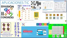 Aplicaciones TIC ABN Apps, Periodic Table, Math, School, Reading Assessment, Educational Activities, Math Class, Singapore, Periotic Table