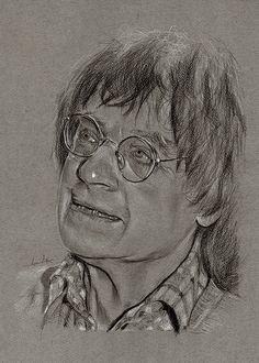 Jean Cabut, dit Cabu 130115 Portraits, Portrait Art, Format A3, Dit, Caricature, Artwork, Charlie Hebdo, Philippe, Paris