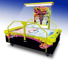 Pac-Man Smash 4-Person Arcade Air Hockey. Free Delivery and Installation!