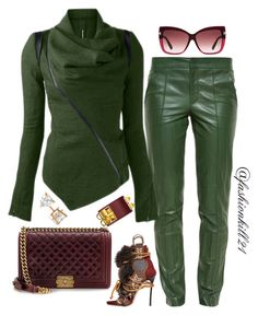 """So Me"" by fashionkill21 ❤ liked on Polyvore featuring Gucci, Dsquared2, Chanel, Tom Ford, Allurez, women's clothing, women, female, woman and misses"