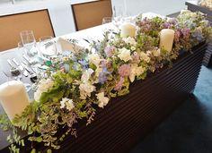 #amandanblue#novarese #vressetrose #Wedding #blue #purple# whitegreen #Flower #Bridal#table coordination#maintable#アマンダンブルー#ノバレーゼ#ブレスエットロゼ #ウエディング# ブルー #パープル #ブルー#テーブル#メインテーブル#会場装花#結婚準備#花#ナチュラル# ブライダル#結婚式#ブレスエットロゼ鎌倉#キャンドル
