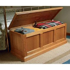 oak and cedar chest plan - Hope Chests