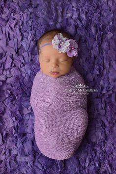 Lavender Baby Headbands, Newborn Headband, Baby Headbands, Infant Headbands, Headbands for Babies, Headbands for Baby, Babies Headbands. Lavender Baby Headbands Newborn Headband Baby by BabyliciousDivas, $6.95
