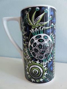 Vintage Retro 70s Portmeirion Pottery Susan Williams Ellis Magic Garden Mug | eBay