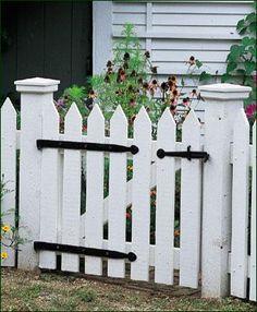 fence gate.