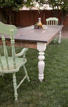 farmhouse tables on pinterest dining table legs farm tables and