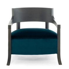 Aura Lounge armchair  Frame: oak Upholstery: fabric, ecoleather, leather by Mauro Lipparini