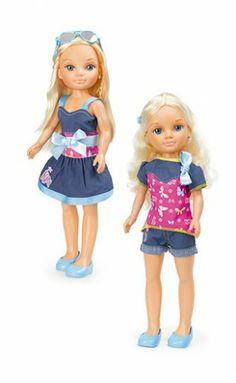 Nancy Bow Fashion Set Stylish: zapatitos azules. #Nancy #dolls #muñecas #poupeés #juguetes #toys #bonecas #bambole #ToyStore