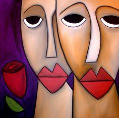 Art: Within Reason - Faces 309 by Artist Thomas C. Fedro