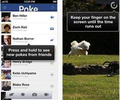 Facebook Poke, la nueva app para enviar mensajes de duración limitada   Menudos Trastos
