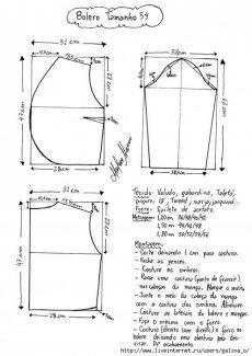 Exceptional Stitches Make a Crochet Hat Ideas. Extraordinary Stitches Make a Crochet Hat Ideas. Sewing Patterns Free, Sewing Tutorials, Clothing Patterns, Dress Patterns, Bolero Pattern, Jacket Pattern, Satin Bolero, Refashion Dress, Costura Fashion