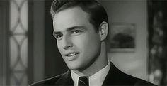 "Marlon Brando's ""Rebel Without A Cause"" Screen Test - http://www.viralbuzzspot.com/marlon-brandos-rebel-without-a-cause-screen-test/"