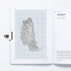 Atlas of Places Layout, Cartography, Editorial Design, Typography, Paper, Page Layout, Graphic Design, Letterpress, Letterpress Printing