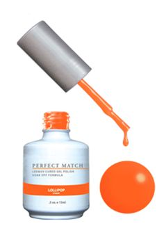 Комплект Perfect Match (Гел лак 15ml + лак за нокти 15ml) цвят LOLLIPOP (SET Perfect Match - LOLLIPOP) | Beautyforce.bg