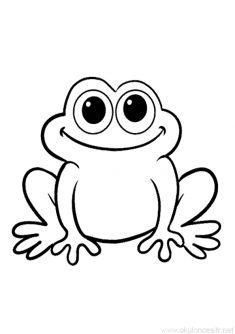 Kurbağa boyama sayfası ve kurbağa resmi boyama sayfaları hayvanlar kalıbı, etkinlikleri kağıdı örnekleri nasıl resimleri çizilir, yazdır çıkart indir. Free frog coloring page download printable.