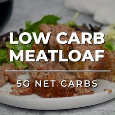SUPER easy, this low carb meatloaf is a family favorite recipes! Try making it as muffins for keto meal prep, or serve it sliced, you'll love it either way! #lowcarbmeatloaf #ketomeatloaf #meatloaf #ketodinners #lowcarbdinners Easy Low Carb Meal Plan, Easy Low Carb Recipes, Low Carb Hamburger Recipes, Low Carb Lunch, Low Carb Dinner Recipes, Sugar Free Recipes, Keto Dinner, Beef Recipes, Breakfast Recipes