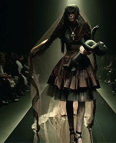 "sirensongfashion: "" Alice Auaa Fall/Winter 2013 at Tokyo Fashion Week """