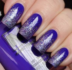 China Glaze Prism to create gradient effect