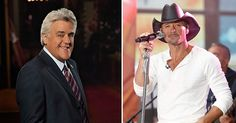 Jay Leno and Tim McGraw (Photos:Debby Wong/Shutterstock) are part of Carnival Live's 2017 concert series.  Guests on scheduled cruise itineraries can buy tickets to these exclusive events.