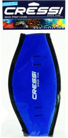 Cressi Mask Strap Cover - Blue