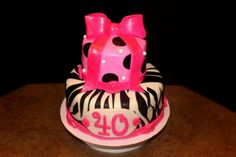 - 40th Birthday cake