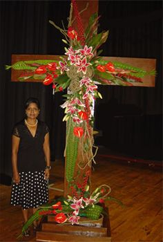Floral Art Club Durban :: Easter Inspirations The Cross